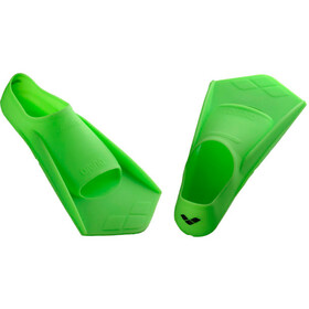 arena Powerfin Flippers, acid lime-black
